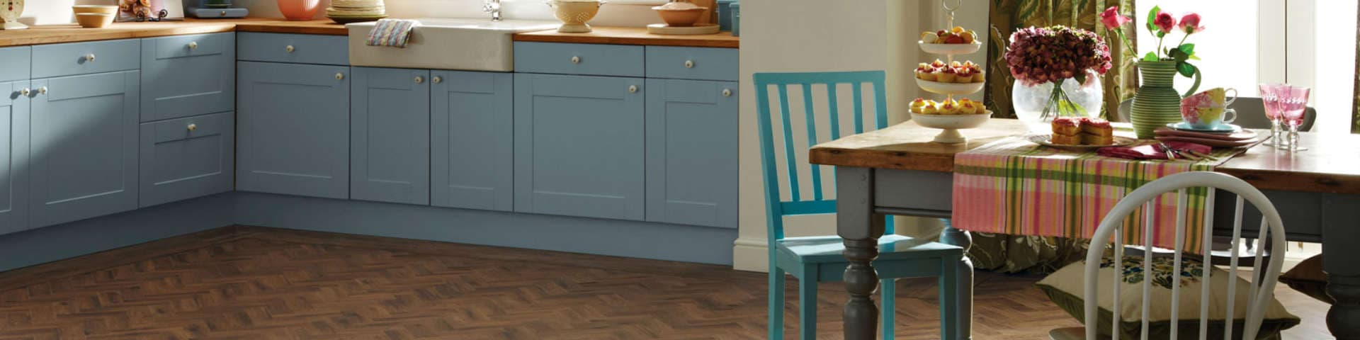 Karndean Wooden Kitchen Flooring