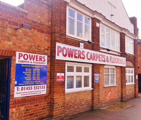 Powers Carpets Showroom